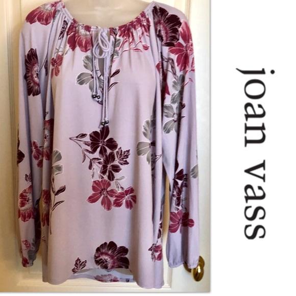 Joan Vass Tops - Joan Vass Top Lavender Pullover Lovely
